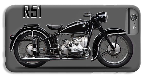 Transportation iPhone 6 Plus Case - The R51 Motorcycle by Mark Rogan