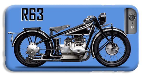 Transportation iPhone 6 Plus Case - The R63 Motorcycle by Mark Rogan