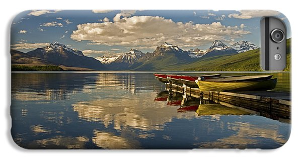 Boats At Lake Mcdonald IPhone 6 Plus Case