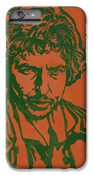 Bob Dylan Pop Stylised Art Sketch Poster IPhone 6 Plus Case by Kim Wang