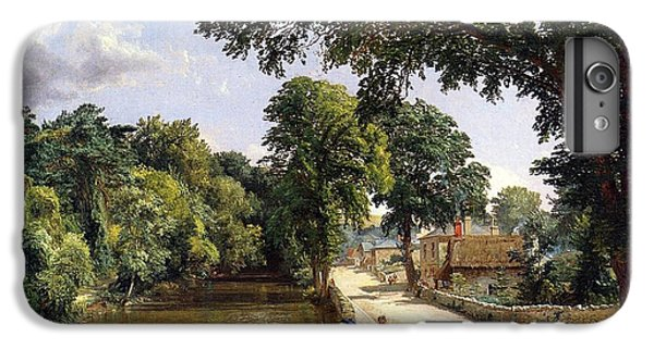 Geese iPhone 6 Plus Case - Bonchurch Isle Of Wight by Jasper Francis Cropsey