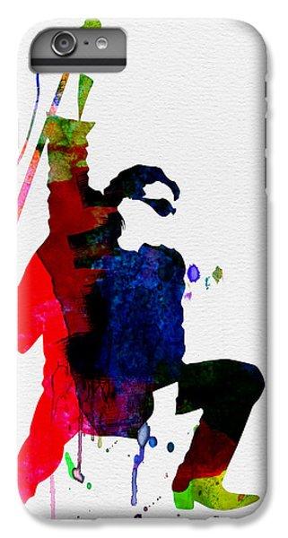 Jazz iPhone 6 Plus Case - Bono Watercolor by Naxart Studio