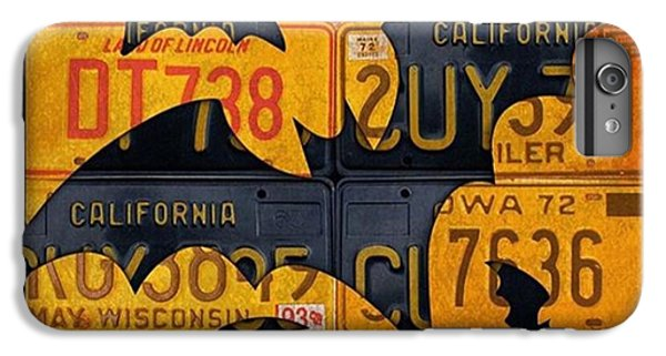 Orange iPhone 6 Plus Case - #boo  @fineartamerica #licenseplates by Design Turnpike