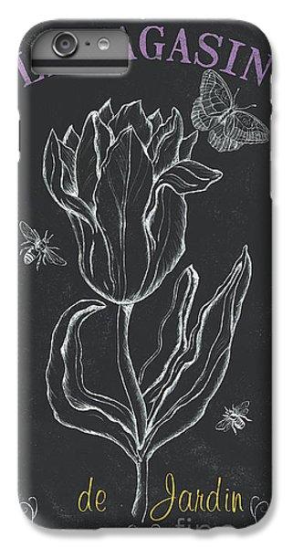 Tulip iPhone 6 Plus Case - Bortanique 4 by Debbie DeWitt
