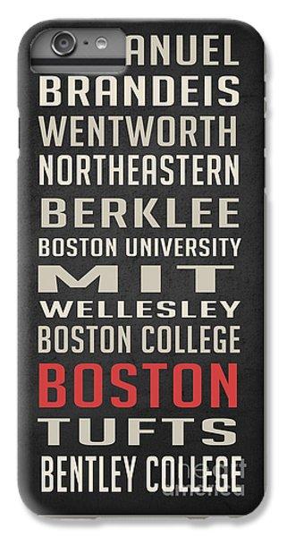 Boston Collegetown IPhone 6 Plus Case