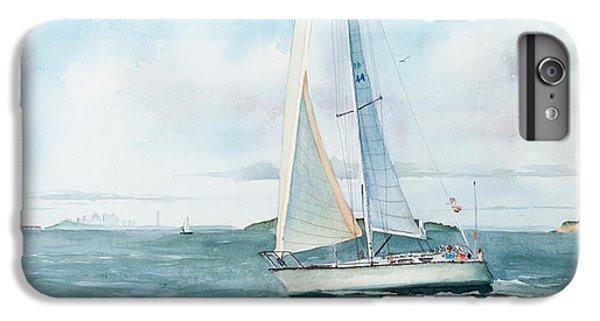 Water Ocean iPhone 6 Plus Case - Boston Harbor Islands by Laura Lee Zanghetti
