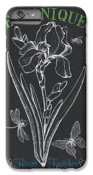 Irises iPhone 6 Plus Case - Botanique 1 by Debbie DeWitt
