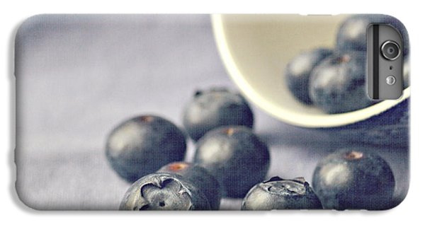 Fruit iPhone 6 Plus Case - Bowl Of Blueberries by Lyn Randle