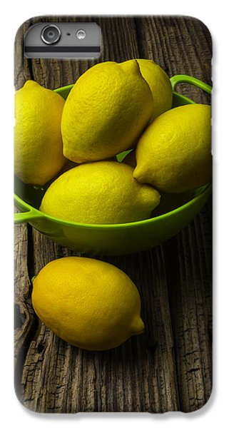 Bowl Of Lemons IPhone 6 Plus Case
