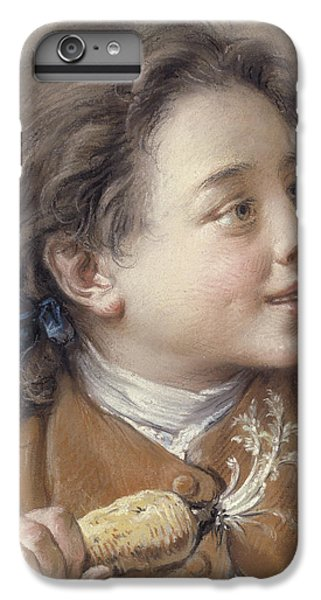 Boy With A Carrot, 1738 IPhone 6 Plus Case by Francois Boucher