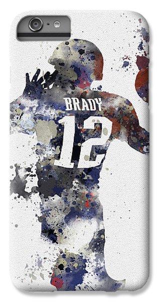 Brady IPhone 6 Plus Case by Rebecca Jenkins