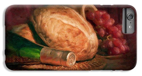 Bread And Wine IPhone 6 Plus Case by Tom Mc Nemar
