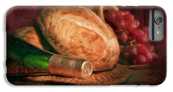 Bread And Wine IPhone 6 Plus Case by Tom Mc Nemar
