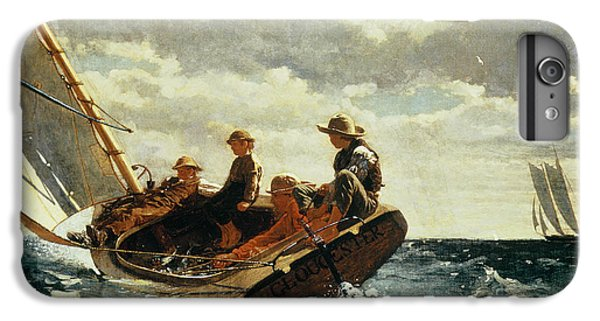 Boat iPhone 6 Plus Case - Breezing Up by Winslow Homer