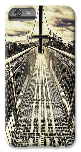 Nature Trail iPhone 6 Plus Case - Bridge Of Suspension  by Jorgo Photography - Wall Art Gallery