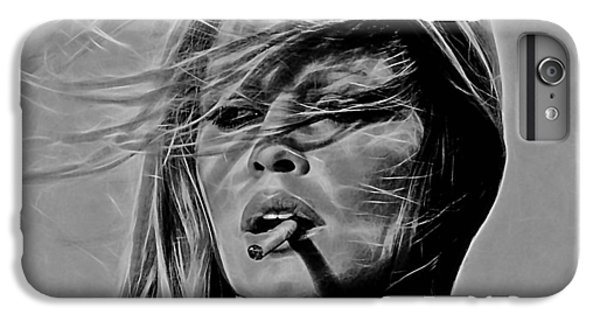 Brigitte Bardot Collection IPhone 6 Plus Case by Marvin Blaine