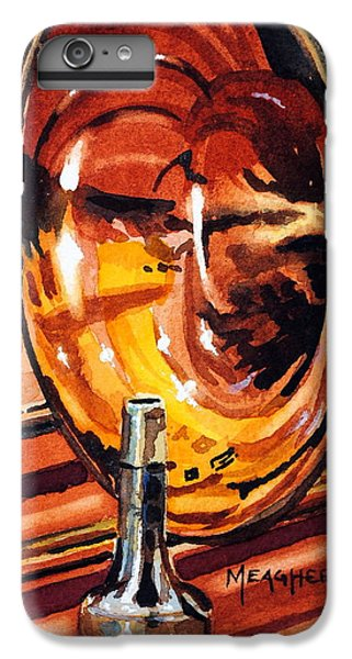 Trombone iPhone 6 Plus Case - Brilliant Brass by Spencer Meagher