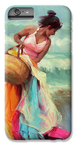Pacific Ocean iPhone 6 Plus Case - Brimming Over by Steve Henderson
