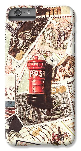 IPhone 6 Plus Case featuring the photograph British Post Box by Jorgo Photography - Wall Art Gallery
