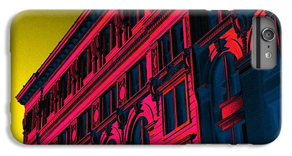 Broadway 118 In Fuschia IPhone 6 Plus Case by Edgar Farrera