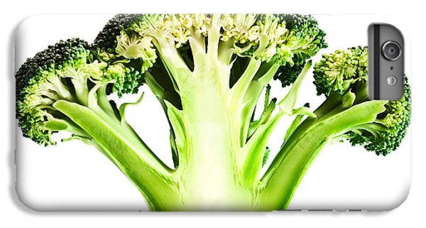 Broccoli Cutaway On White IPhone 6 Plus Case