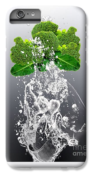 Broccoli Splash IPhone 6 Plus Case