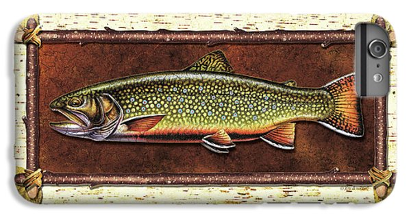 Brook Trout Lodge IPhone 6 Plus Case by JQ Licensing