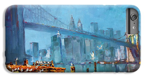 Brooklyn Bridge IPhone 6 Plus Case by Ylli Haruni