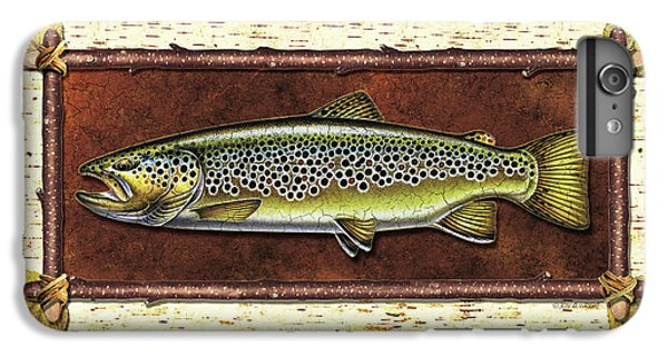 Brown Trout Lodge IPhone 6 Plus Case by JQ Licensing
