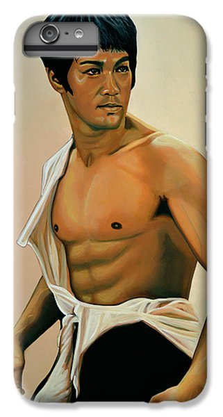 Bruce Lee Painting IPhone 6 Plus Case by Paul Meijering