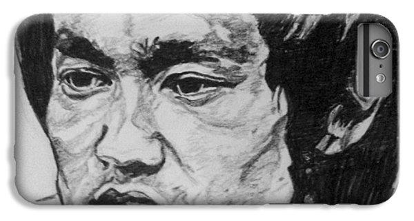 Bruce Lee IPhone 6 Plus Case by Rachel Natalie Rawlins