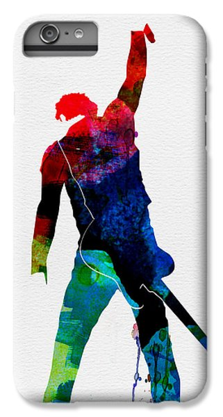Musician iPhone 6 Plus Case - Bruce Watercolor by Naxart Studio