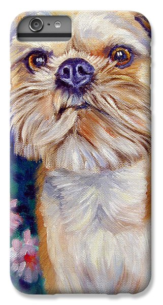 Brussels Griffon IPhone 6 Plus Case by Lyn Cook