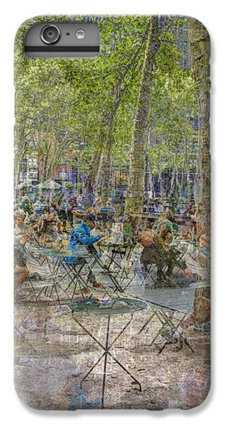 Bryant Park Collage 2 IPhone 6 Plus Case by Dave Beckerman