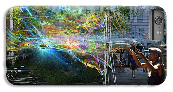 Bubble Maker Collage 1 IPhone 6 Plus Case by Dave Beckerman