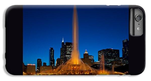 Buckingham Fountain Nightlight Chicago IPhone 6 Plus Case by Steve Gadomski