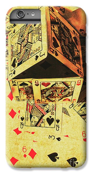 IPhone 6 Plus Case featuring the photograph Building Bets And Stacking Odds by Jorgo Photography - Wall Art Gallery