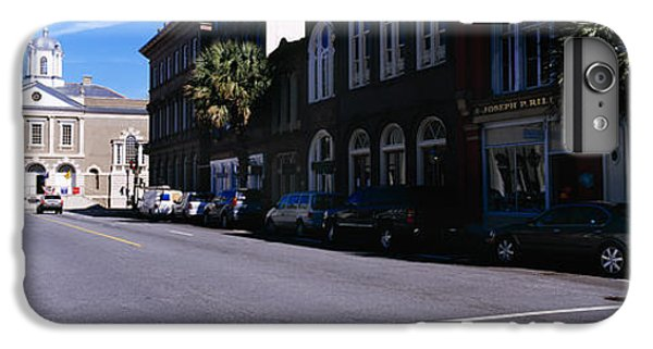 Dungeon iPhone 6 Plus Case - Buildings On Both Sides Of A Road by Panoramic Images