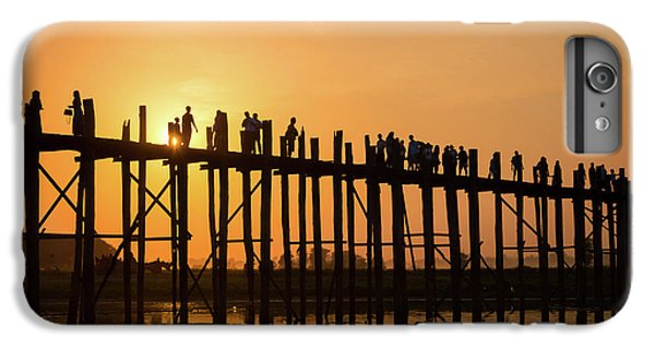 Burmese Python iPhone 6 Plus Case - Burmese Sunset by Delphimages Photo Creations