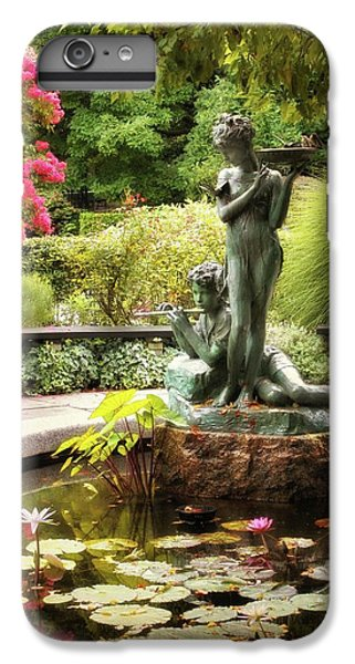 Burnett Fountain Garden IPhone 6 Plus Case by Jessica Jenney