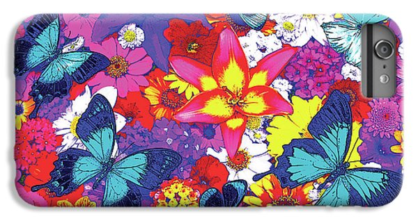 Fairy iPhone 6 Plus Case - Butterflies And Flowers by JQ Licensing