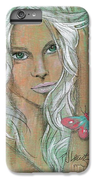 Butterfly IPhone 6 Plus Case by P J Lewis