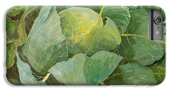 Cabbage IPhone 6 Plus Case by Jennifer Abbot