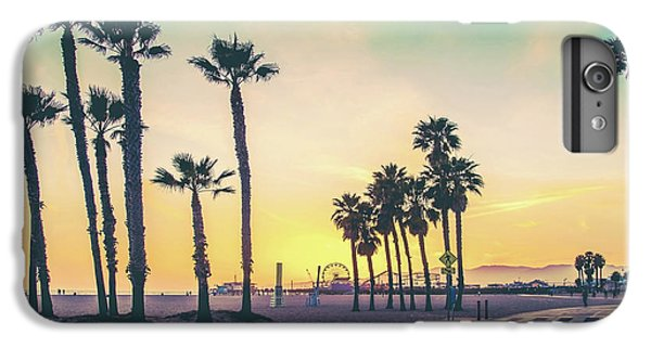 Los Angeles iPhone 6 Plus Case - Cali Sunset by Az Jackson