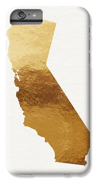 California Gold- Art By Linda Woods IPhone 6 Plus Case by Linda Woods