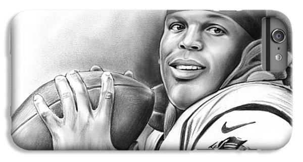 Cam Newton IPhone 6 Plus Case by Greg Joens