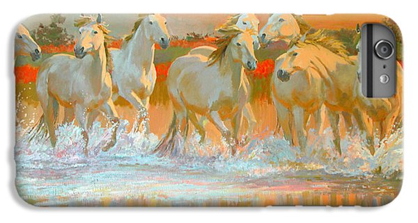 Camargue  IPhone 6 Plus Case by William Ireland
