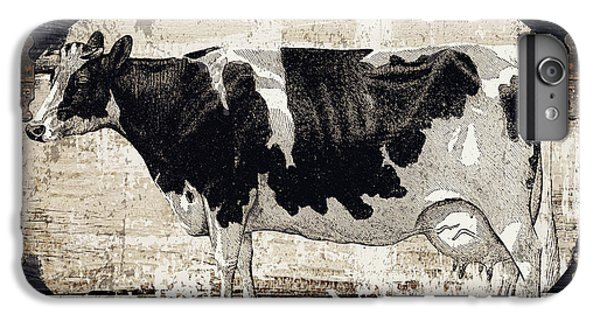 Cow iPhone 6 Plus Case - Campagne I French Cow Farm by Mindy Sommers