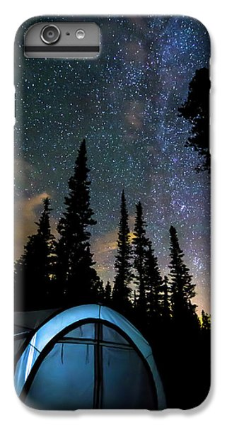 IPhone 6 Plus Case featuring the photograph Camping Star Light Star Bright by James BO Insogna