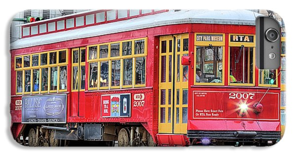 IPhone 6 Plus Case featuring the photograph Canal Street Streetcar by JC Findley